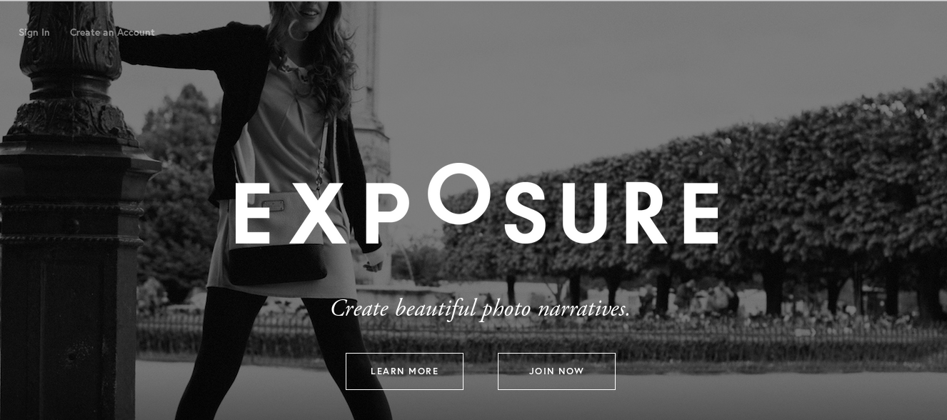 Exposure Homepage