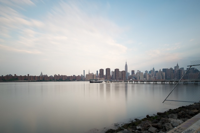 New York City Skyline From Greenpoint