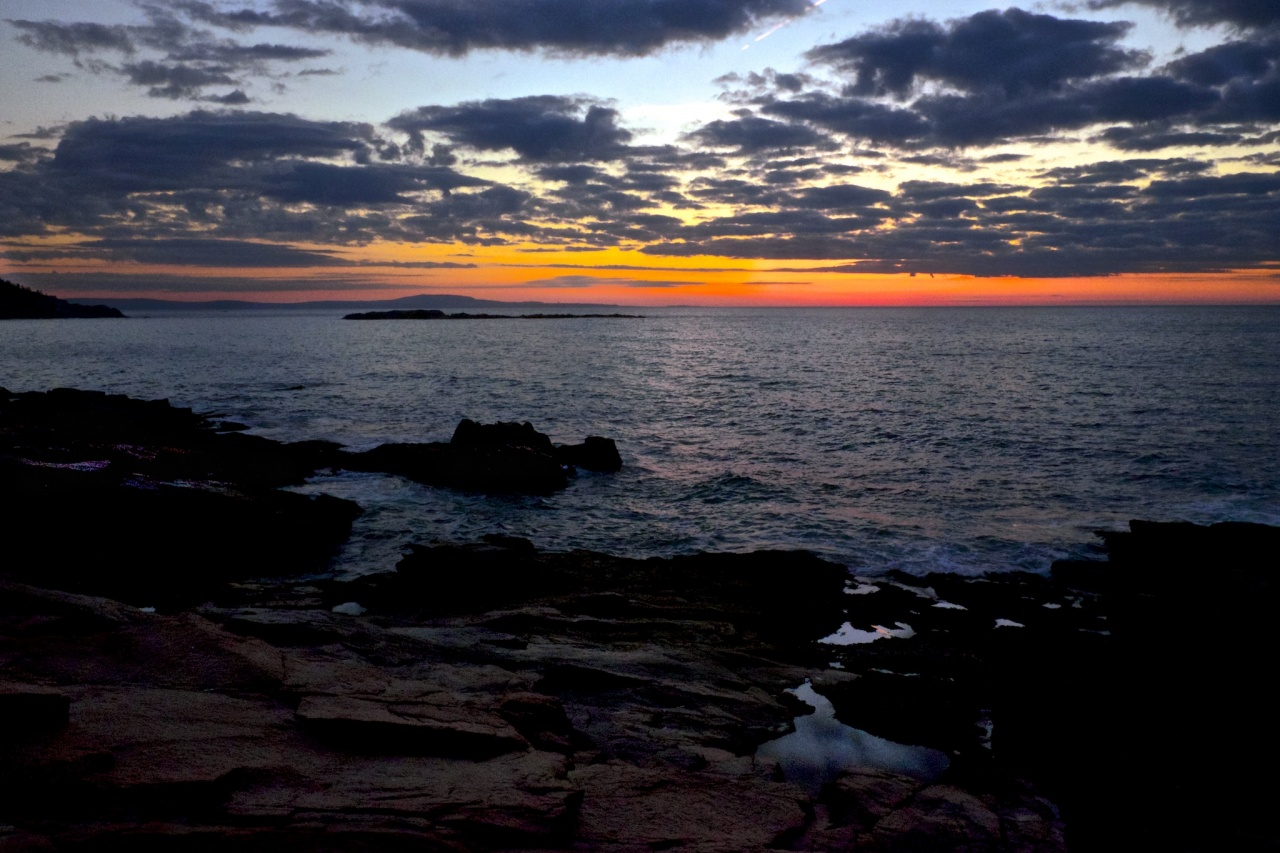 Thunder Hole, Just Before Sunrise