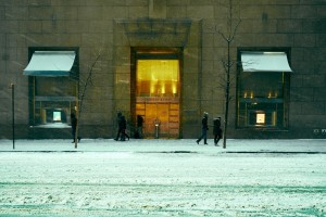 Snow Storm At Tiffany's – #we35