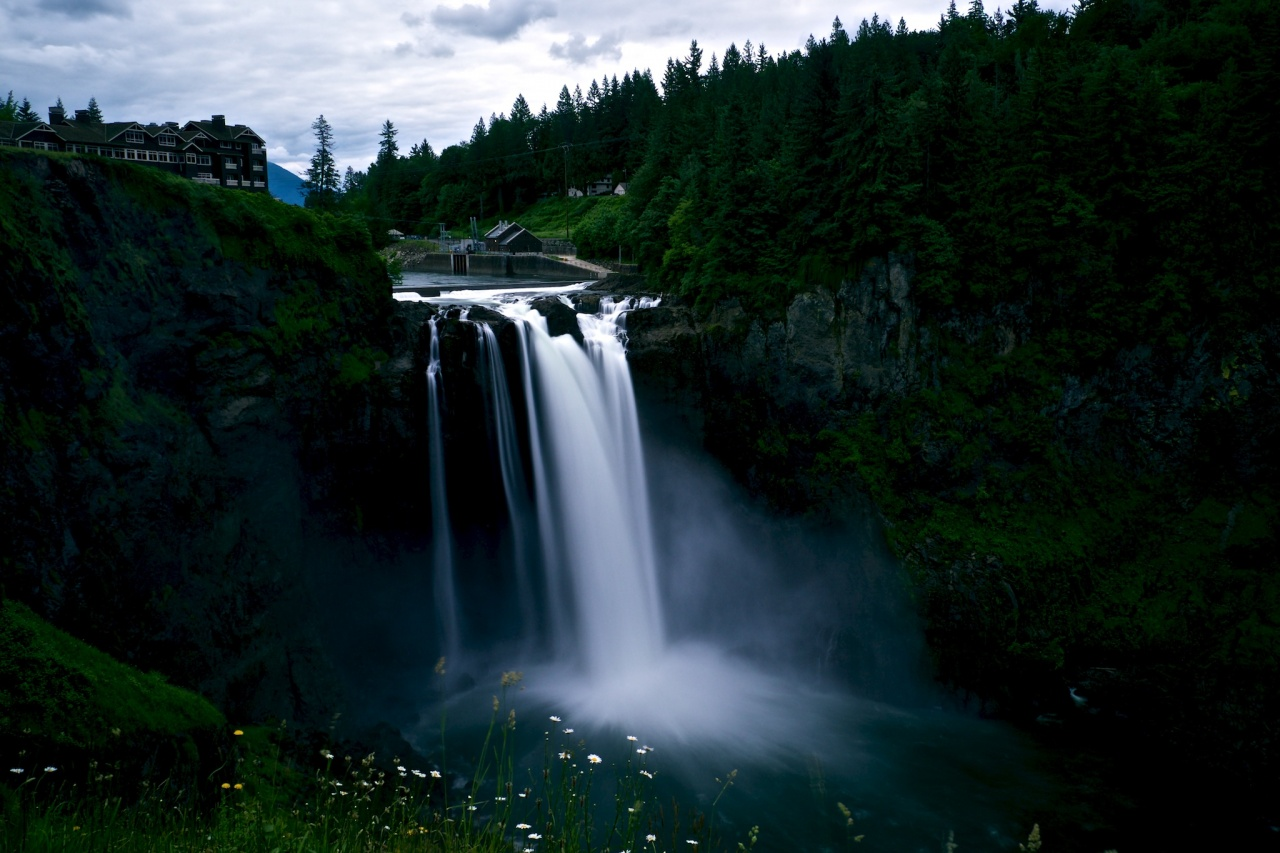 Snoqualmie Falls Long Exposure – #nXnw2015