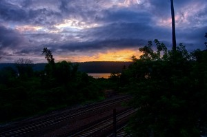 Spuyten Duyvil – Sunset Over The Hudson